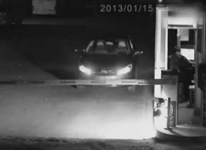 Girl Pretends To Be Ghost To Avoid Parking